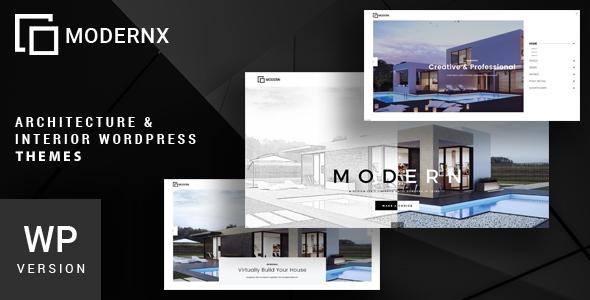 Modernx - Architecture & Interior WordPress Theme - Business Corporate