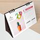 Creative Desk Calendar 2019 - GraphicRiver Item for Sale