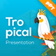 Tropical Travel Presentation Template - GraphicRiver Item for Sale