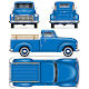 Classic Pickup Truck - GraphicRiver Item for Sale