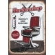 Barbershop Chair and Scissors - GraphicRiver Item for Sale