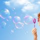 Soap Bubbles Realistic Background - GraphicRiver Item for Sale