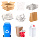 Trash and Waste Set - GraphicRiver Item for Sale