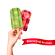 Fruit Popsicles Advertising Background - GraphicRiver Item for Sale