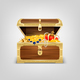 Realistic Treasure Chest Composition - GraphicRiver Item for Sale