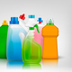 Colourful Detergent Bottles Composition - GraphicRiver Item for Sale