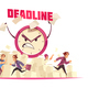 Deadline Vector Illustration - GraphicRiver Item for Sale