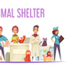 Animal Shelter Composition - GraphicRiver Item for Sale