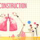 Nano Construction Flat Illustration - GraphicRiver Item for Sale