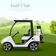 Golf Car Ilustration - GraphicRiver Item for Sale