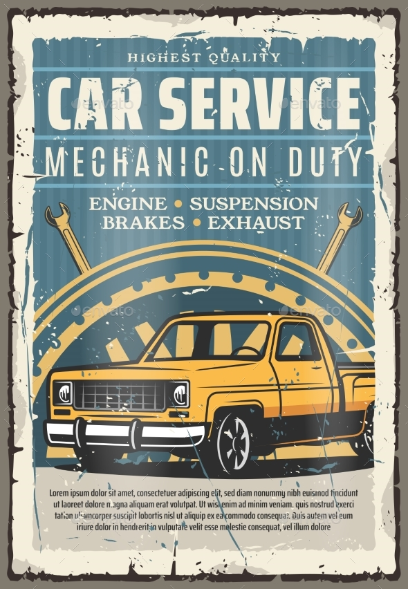 Car Repairing Service Engine Brakes - Man-made Objects Objects