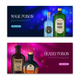 Poison Horizontal Banners Set - GraphicRiver Item for Sale