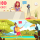 Food Blogger Banners Collection - GraphicRiver Item for Sale