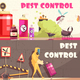 Pest Control Horizontal Banners - GraphicRiver Item for Sale