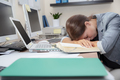 Exhausted office worker - PhotoDune Item for Sale