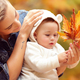 Mother with son enjoying autumn - PhotoDune Item for Sale