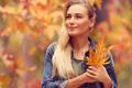 Beautiful girl enjoying autumn holidays - PhotoDune Item for Sale