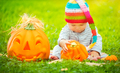 Pretty child celebrating Halloween - PhotoDune Item for Sale