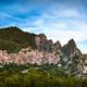 Castelmezzano village in Apennines Dolomiti Lucane. Basilicata, - PhotoDune Item for Sale