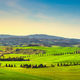 Siena city skyline, countryside and rolling hills. Tuscany, Ital - PhotoDune Item for Sale