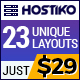 Hostiko WordPress WHMCS Hosting Theme - ThemeForest Item for Sale