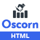 Oscorn - Business Finance HTML Template - ThemeForest Item for Sale