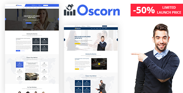 Oscorn - Business Finance HTML Template