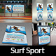 Surf Sport Training Advertising Bundle - GraphicRiver Item for Sale