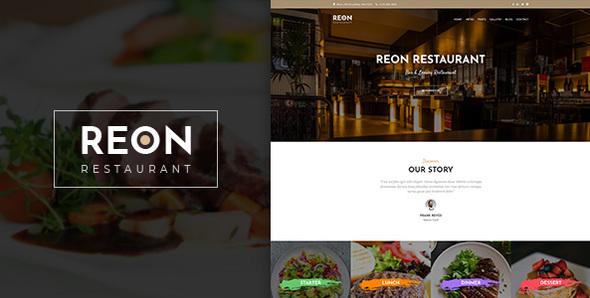 Reson   Restaurant PSD Template - Food Retail