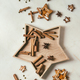 Christmas star shape sugar cookies - PhotoDune Item for Sale