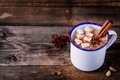 Hot cocoa drink with cinnamon and marshmallows. - PhotoDune Item for Sale