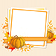 Autumn Background with Pumpkins - GraphicRiver Item for Sale