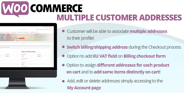 WooCommerce Multiple Customer Addresses - CodeCanyon Item for Sale