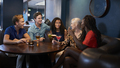 Group Of Young Friends Relaxing In Bar Together On Night Out - PhotoDune Item for Sale