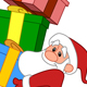 Santa with Gifts Stack - GraphicRiver Item for Sale