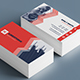 Horizontal & Vertical Corporate Business Cards #3 - GraphicRiver Item for Sale