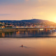 Sunset over Elizabeth bridge - PhotoDune Item for Sale