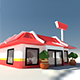 Fast Food Chain Store - 3DOcean Item for Sale
