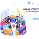 Analytics Dashboard Template Banner - GraphicRiver Item for Sale