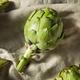 Raw Organic Green Artichokes - PhotoDune Item for Sale