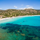 Aerial  view  of Palombaggia beach in Corsica Island in France - PhotoDune Item for Sale