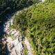 Aerial  view of Cavu natural pool near Tagliu Rossu and Sainte L - PhotoDune Item for Sale