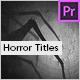 Flashlight - Horror Titles | Premiere Pro - VideoHive Item for Sale
