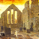 Textured Image of Cong Abbey in Ireland - PhotoDune Item for Sale