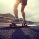 Riding skateboard on asphalt road - PhotoDune Item for Sale