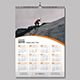 1 Page Wall Calendar 2019 - GraphicRiver Item for Sale