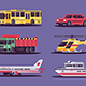 Transport Collection - GraphicRiver Item for Sale