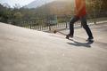 Skateboarder skateboarding at skatepark - PhotoDune Item for Sale