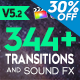 FCPX 344+ Transitions and Sound FX - VideoHive Item for Sale