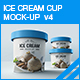 Ice Cream Cup Mock-up v4 - GraphicRiver Item for Sale
